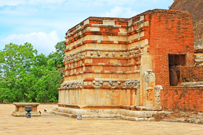 Jetavanaramaya Stupa, patrimonio mundial de la UNESCO de Sri Lanka fotos de archivo