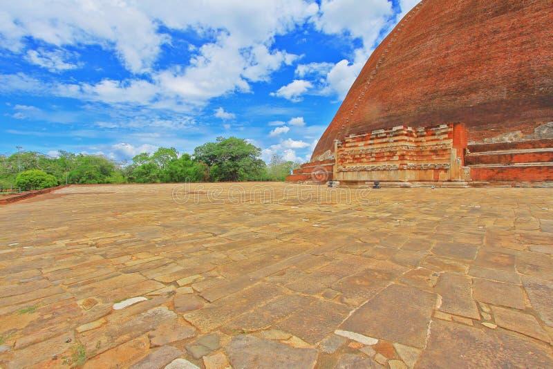 Jetavanaramaya Stupa, patrimonio mundial de la UNESCO de Sri Lanka imagen de archivo