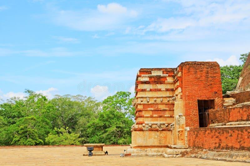 Jetavanaramaya Stupa, patrimonio mundial de la UNESCO de Sri Lanka fotos de archivo libres de regalías