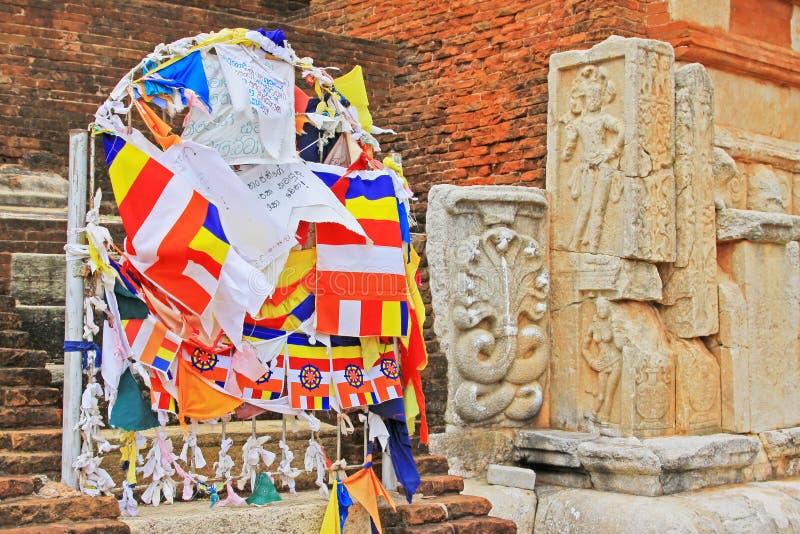 Jetavanaramaya Stupa, Sri Lanka UNESCO World Heritage stock images