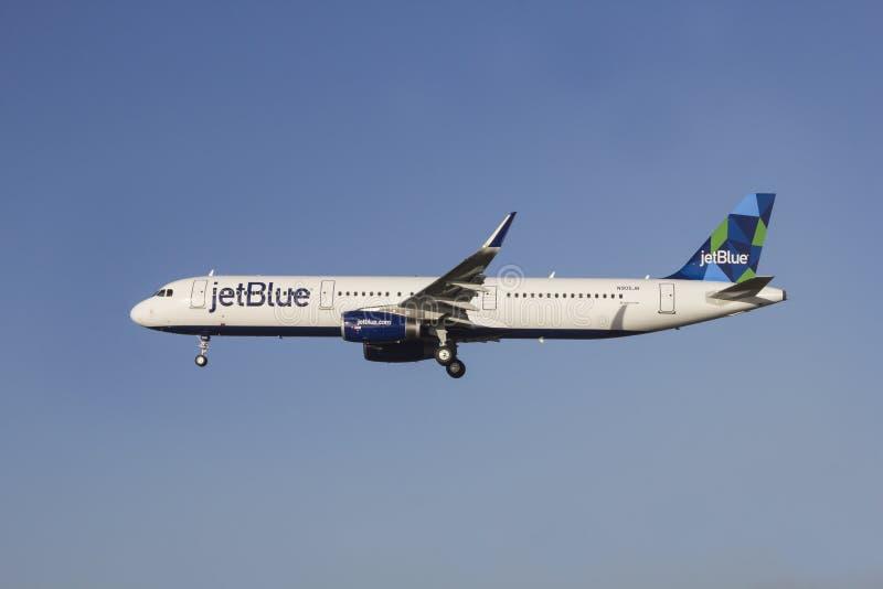 JetBlue Airbus A321 photo libre de droits