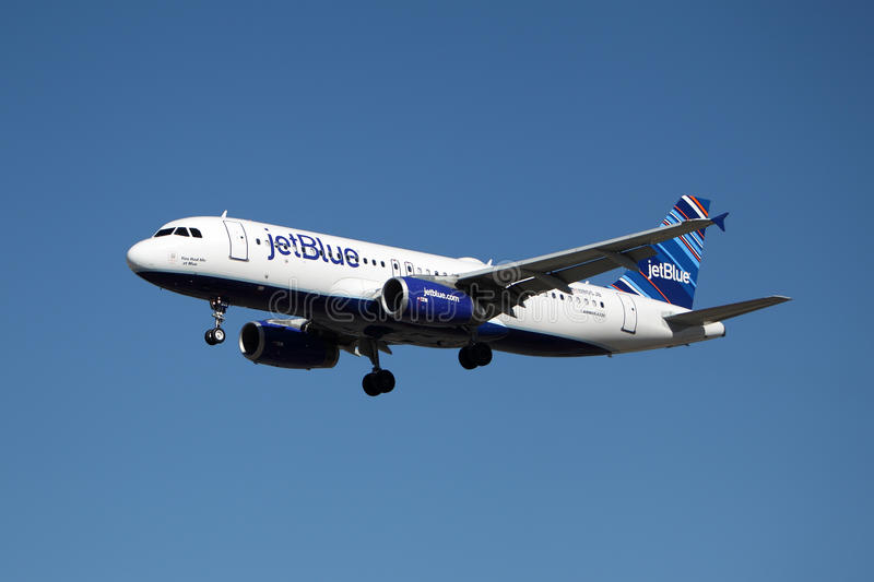 Jetblue Airbus A320 royalty free stock photo