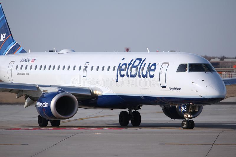JetBlue Airways stockbild