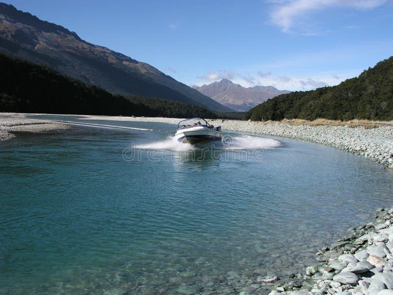 Jetboat stock afbeeldingen