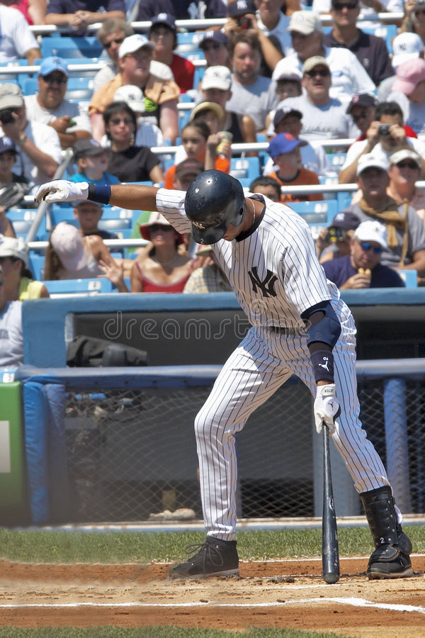 Download Jeter At Bat editorial stock image. Image of integrity - 8774069