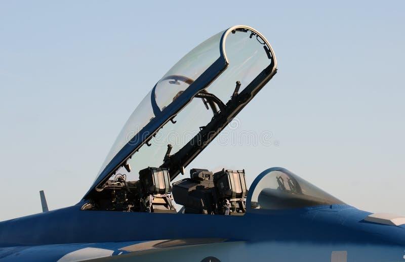 Download Jetfighter Cockpit stockbild. Bild von militärisch, flugzeug - 27732469