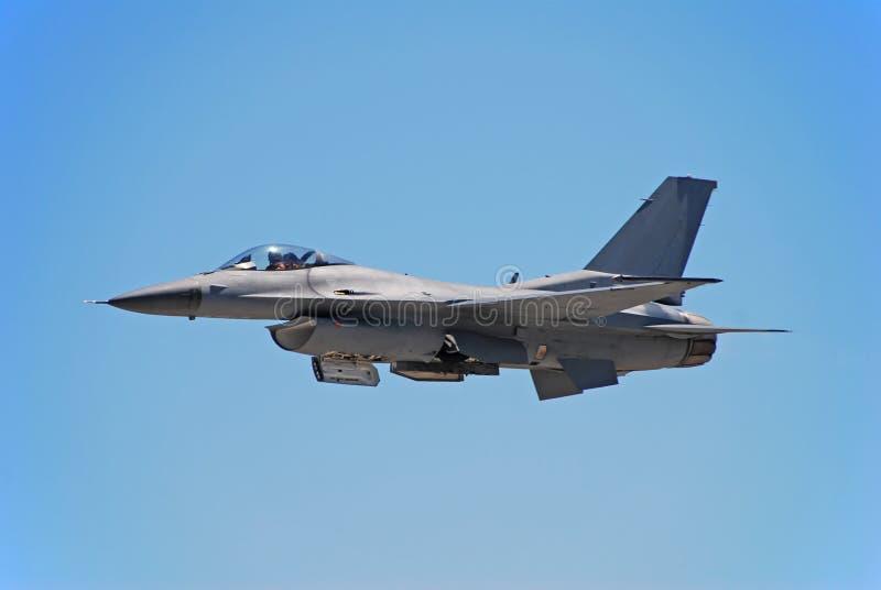 Jetfighter moderno F-16 immagini stock libere da diritti