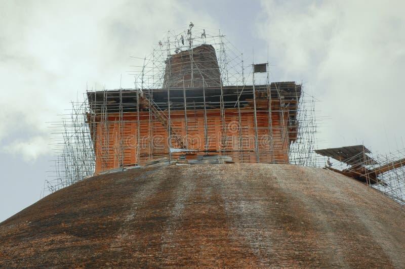 Jethawanaramaya, Anuradhapuraya, Sri Lanka foto de archivo libre de regalías