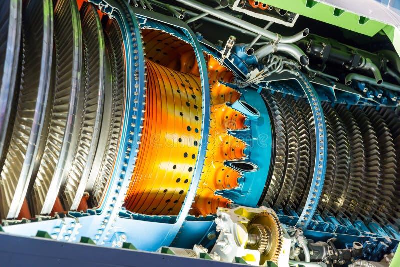 Jetmotor inom royaltyfri bild