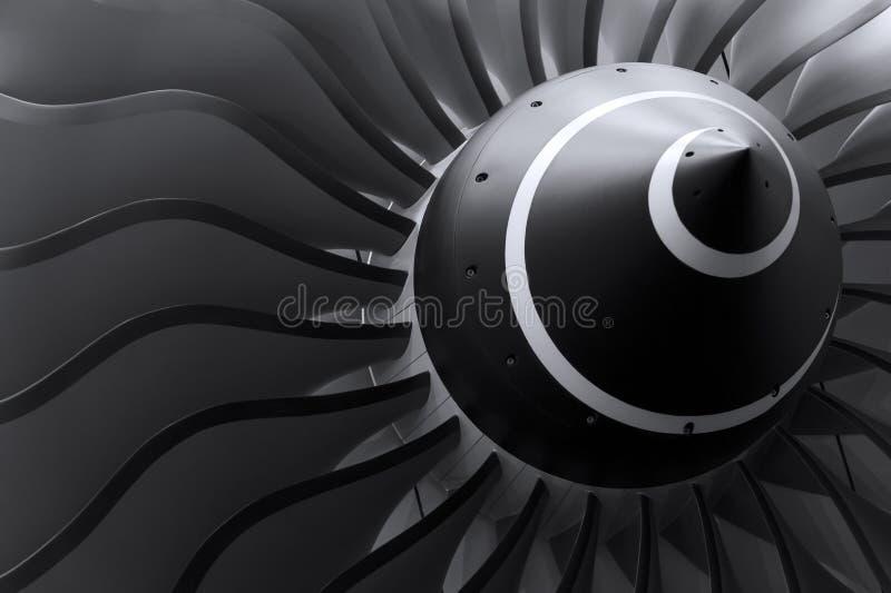 Jetmotorblad arkivfoto