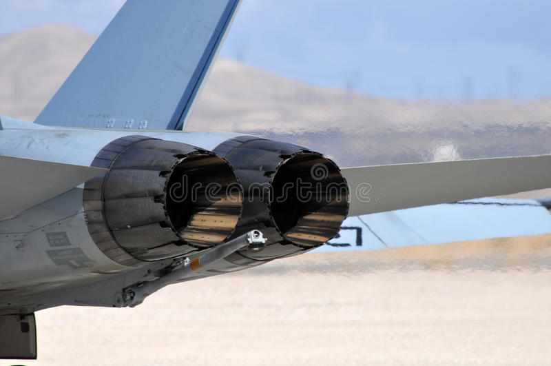 Jetmotorer arkivbilder