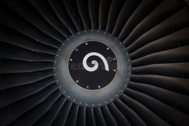 Jetmotorpassagerarenivå arkivfoto