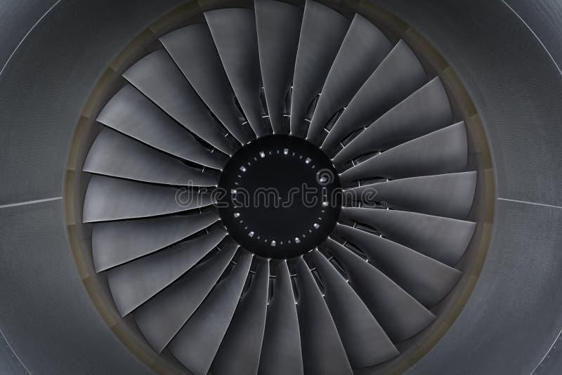 Jetmotorpassagerarenivå fotografering för bildbyråer