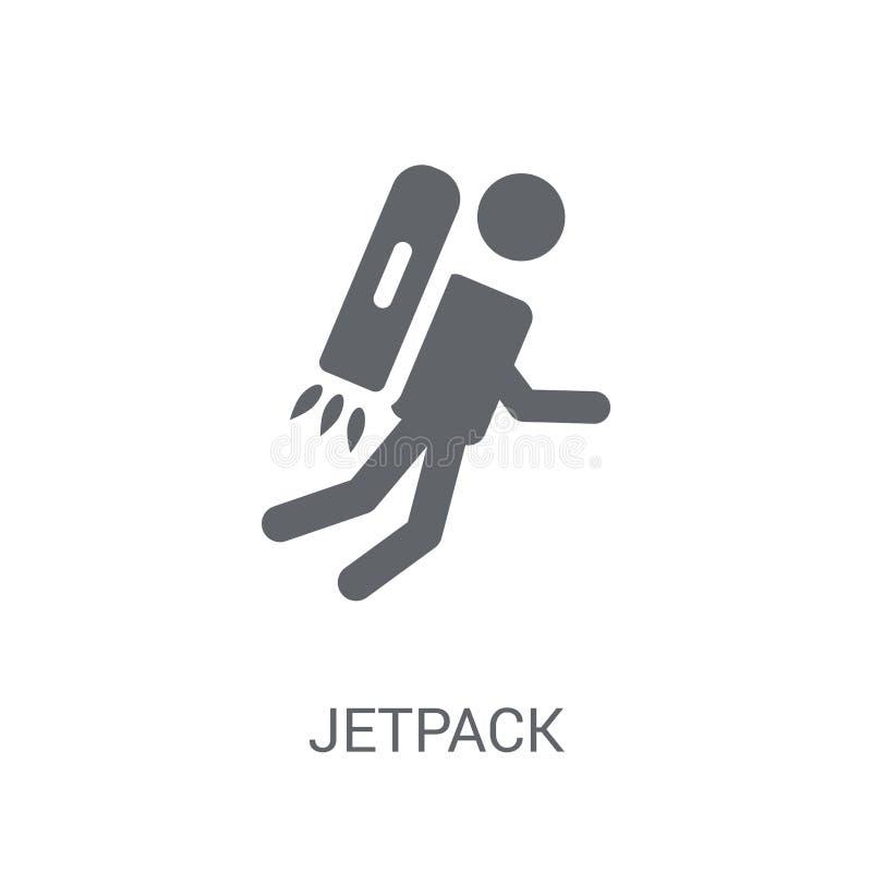 Jetpack象  向量例证