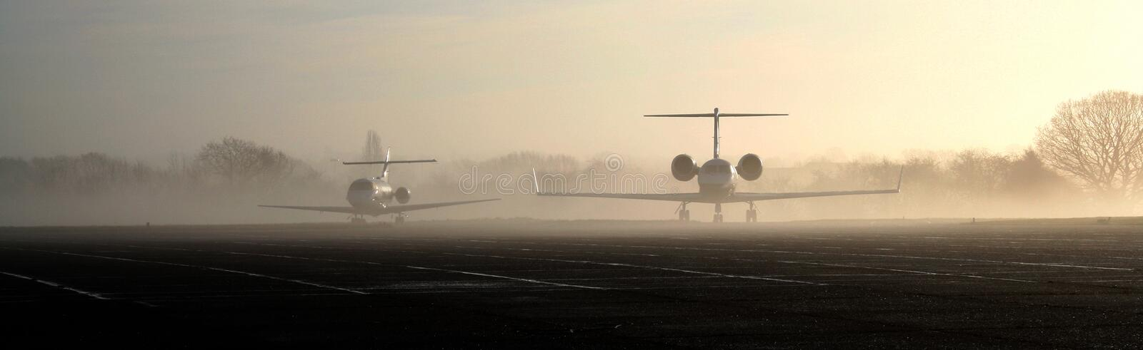 Download Jets in the mist stock image. Image of airport, aviation - 6345135