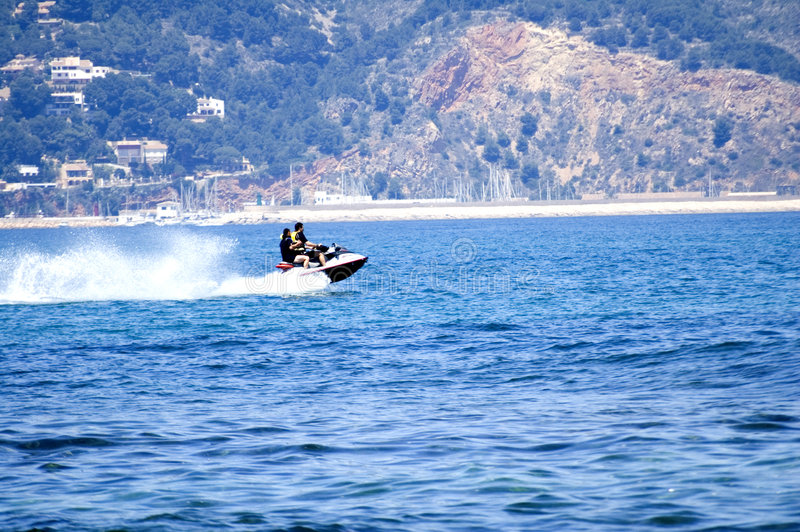 Download Jetski stock image. Image of speeding, spray, fast, port - 2493869