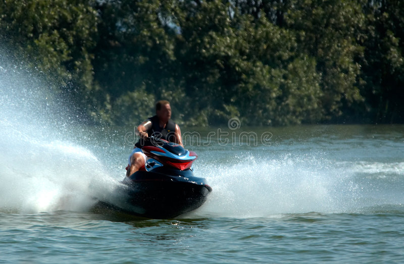 Jetski fun royalty free stock photography