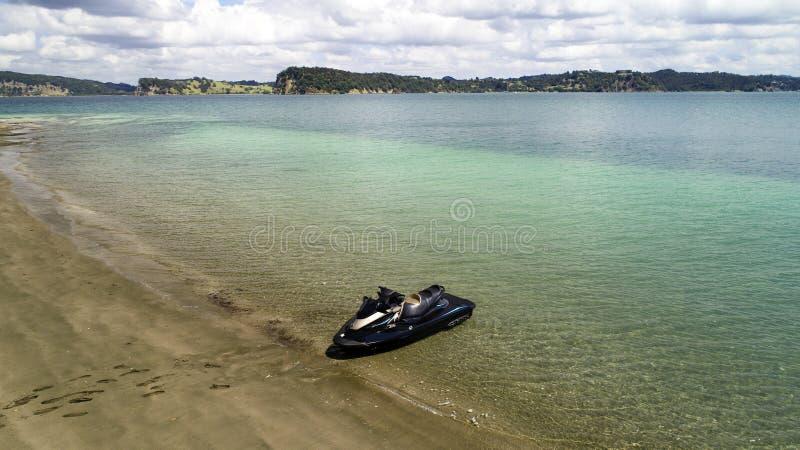 Jetski na plaży zdjęcie stock
