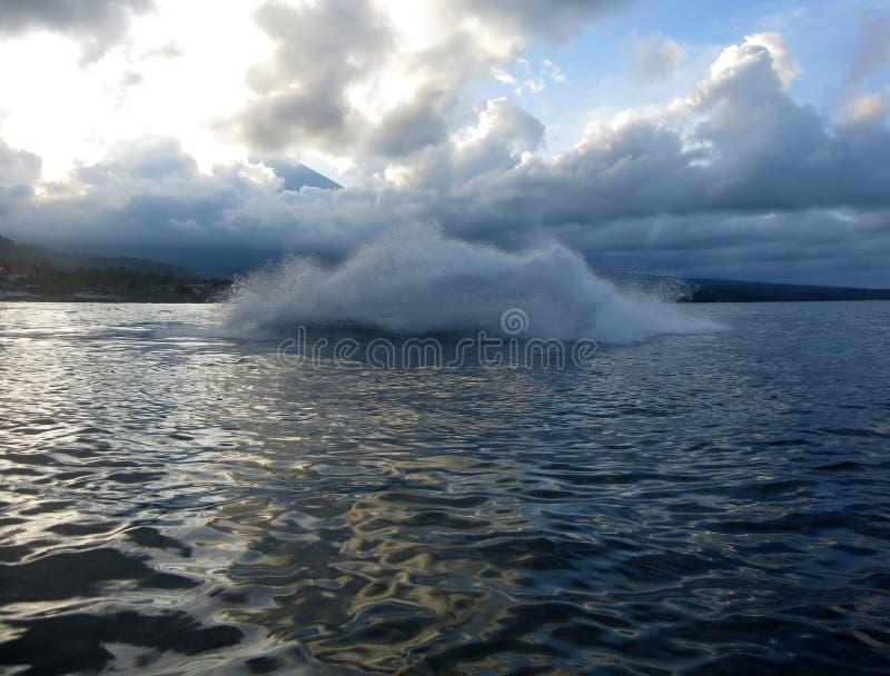 Jetski sul mare Velocit? ed adrenalina immagini stock