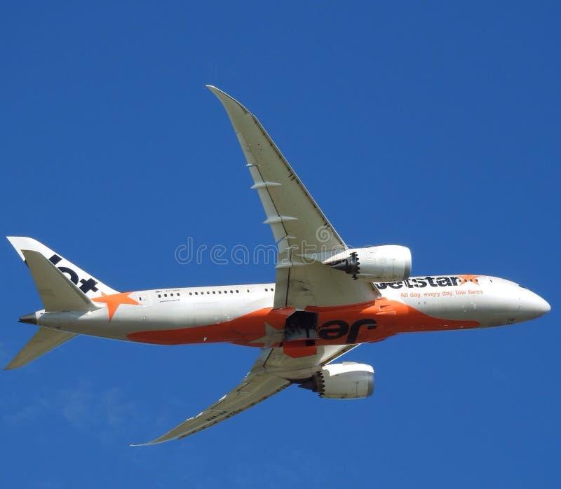 Jetstar samolot zdjęcie stock