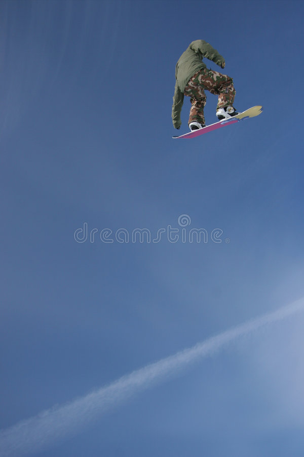 Download Jetstream Snowboard Air stock photo. Image of extreme - 2125596
