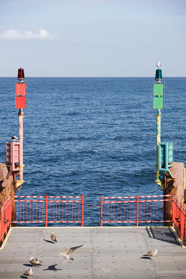 Download Jetty stock photo. Image of navigational, safety, sitting - 21732112