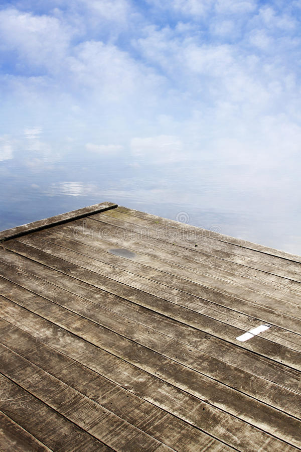 Download Jetty stock image. Image of copy, nature, clouds, water - 25488285