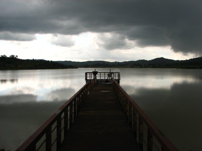 Download Jetty On Keonjhar Lake Stock Image - Image: 22520391