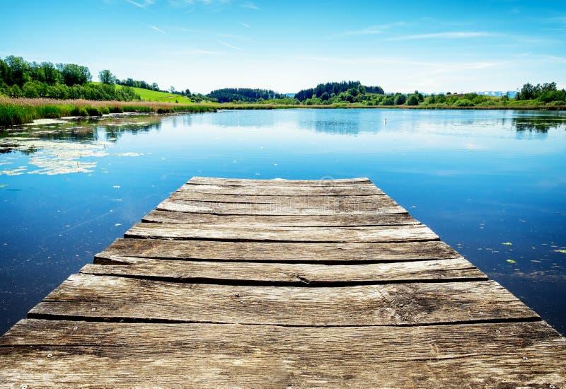 jetty old wooden στοκ φωτογραφίες με δικαίωμα ελεύθερης χρήσης