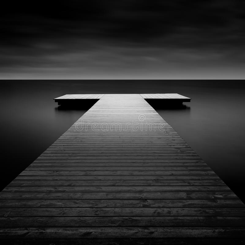 Free Jetty On A Lake In Bavaria, Germany Stock Photo - 49461290