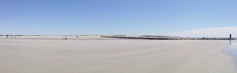 Jetty przy głupoty plażą, Południowa Karolina obrazy stock
