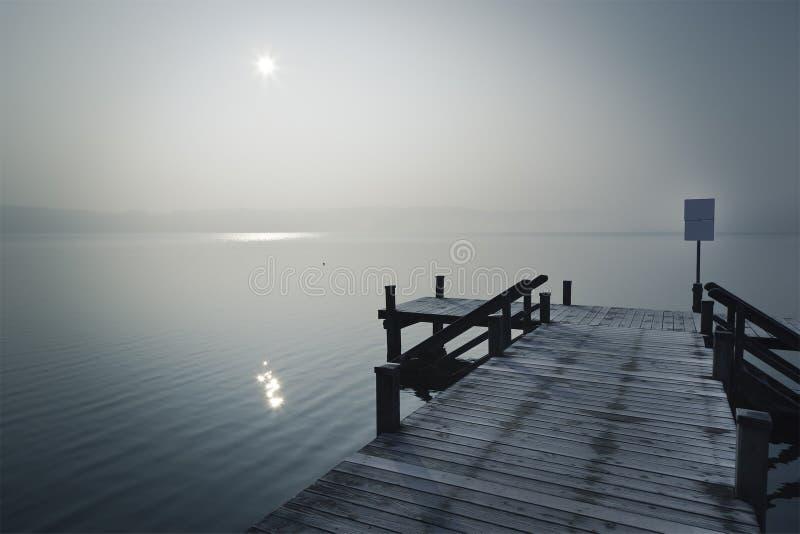 jetty zima fotografia stock