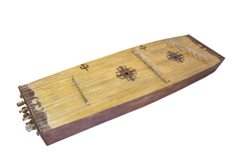 Jetygen Kazakh volks muzikaal instrument royalty-vrije stock afbeelding