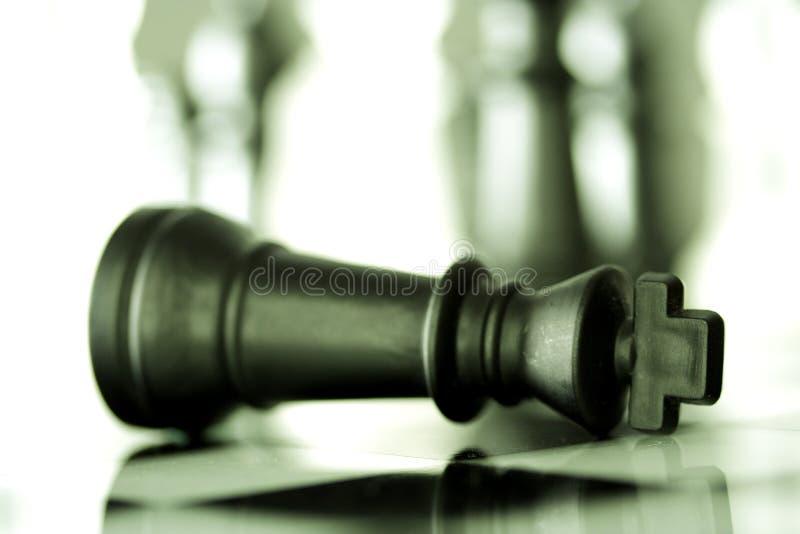 Jeu-Échec et mat d'échecs photographie stock