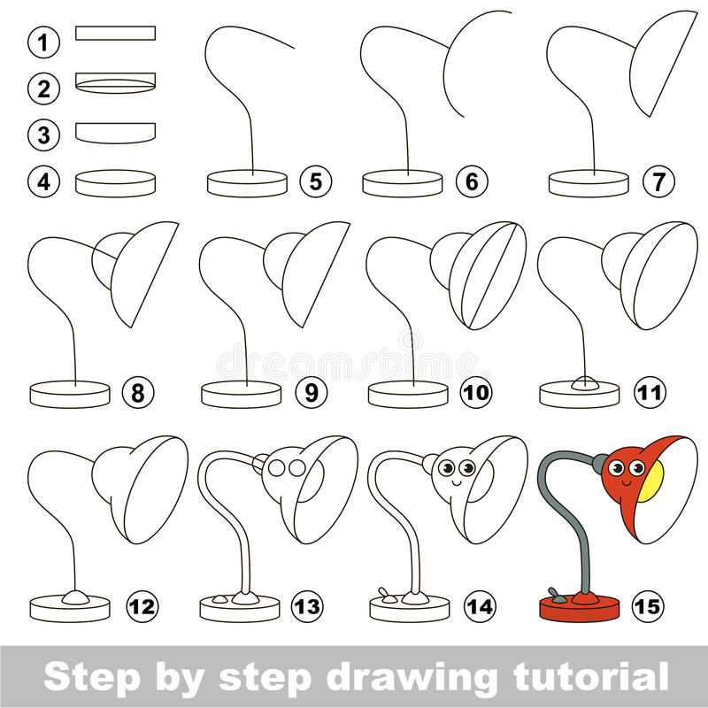 Jeu Educatif D Enfant Simple Cours De Dessin Illustration De