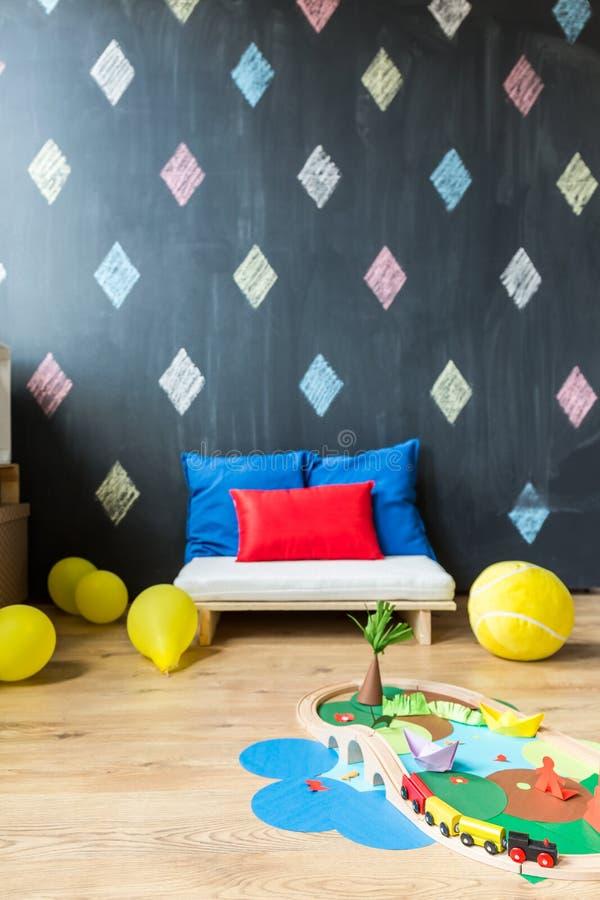Download Jeu Créatif Pour Votre Enfant Image stock - Image du bedroom, pépinière: 77155413