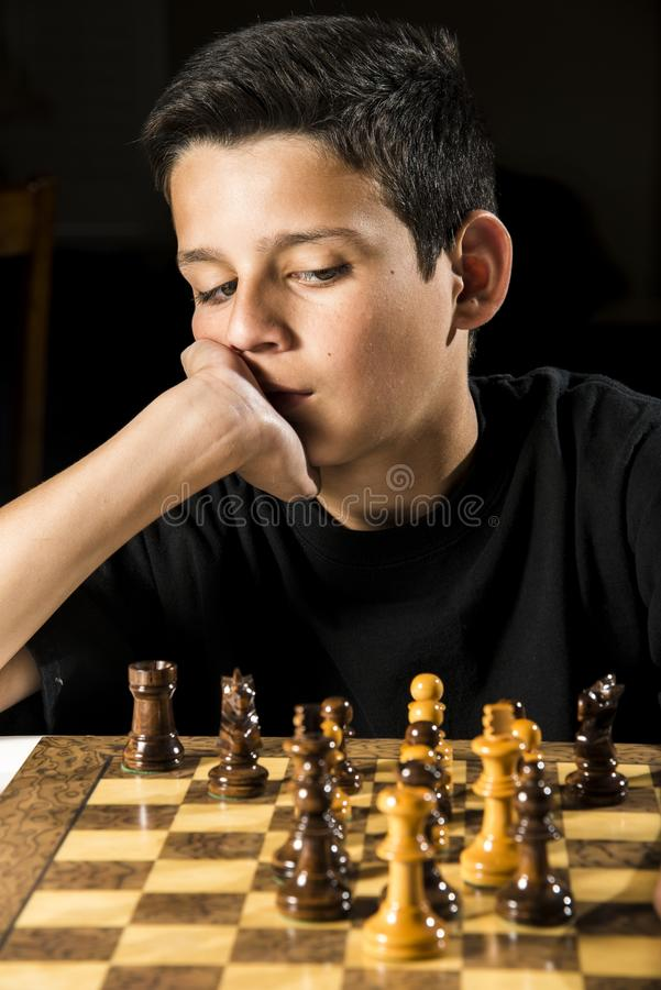 Jeu d'échecs photographie stock