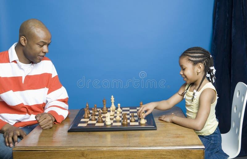 Download Jeu d'échecs image stock. Image du heureux, amour, américain - 737799