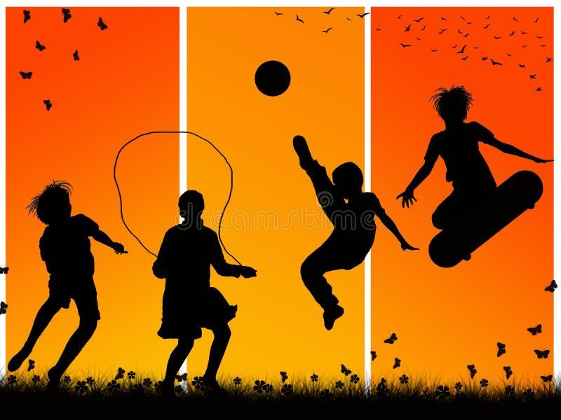 Jeu D Enfants Photos libres de droits