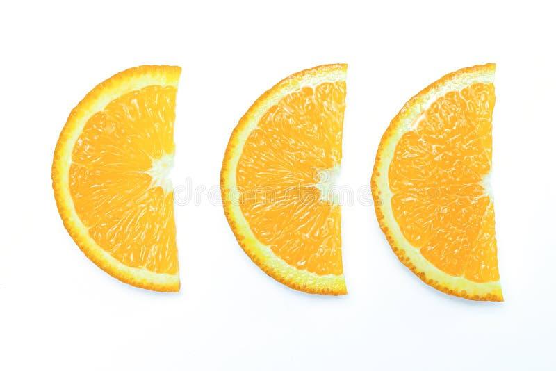 Jeu d'orange lisible isolé sur fond blanc images stock