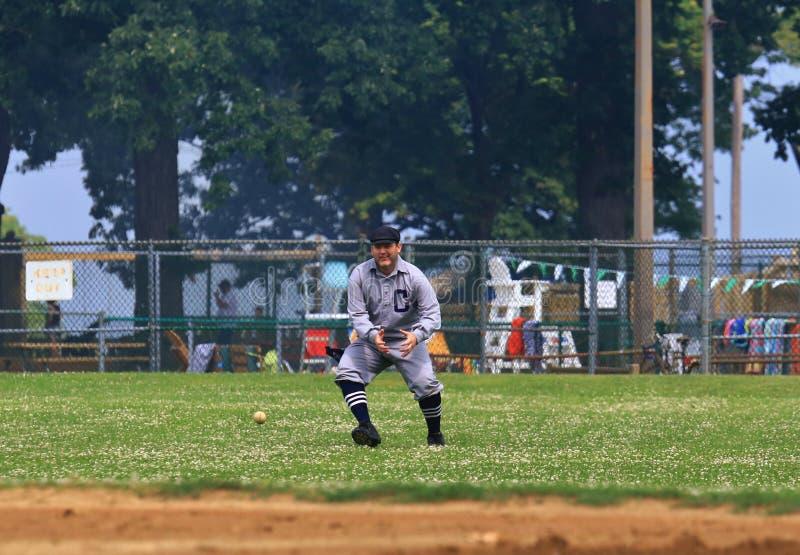 Jeu de baseball photo stock