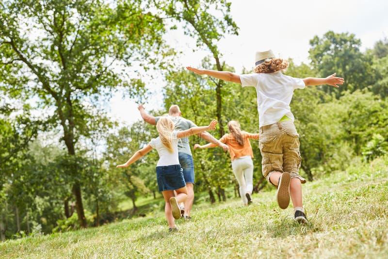 Jeu de famille et d'enfants ensemble photos libres de droits