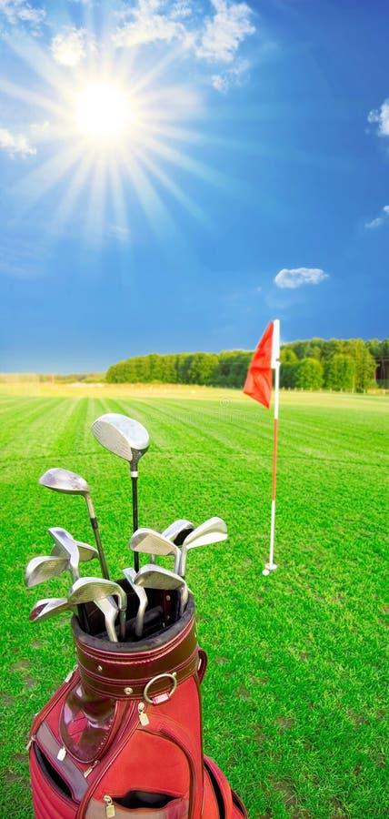 Jeu de golf. images libres de droits