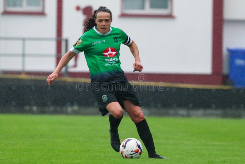 Jeu de la ligue nationale des femmes : Galway WFC contre Peamount a uni photos libres de droits