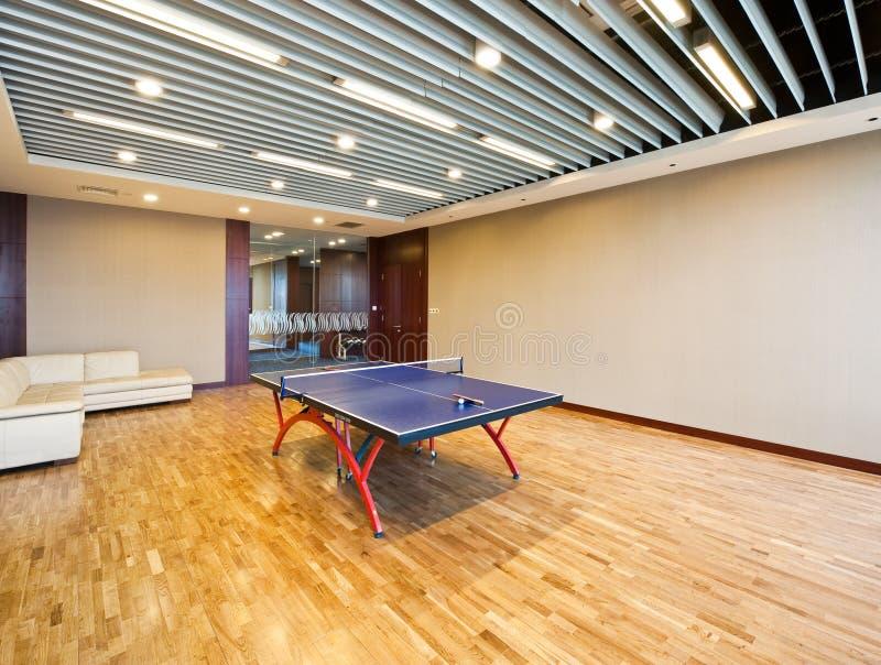 Jeu de la pièce pour le ping-pong photos libres de droits