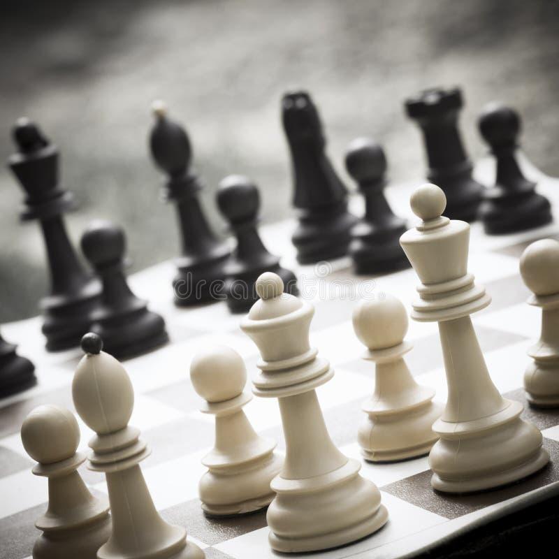 Jeu de loisirs d'échecs images stock