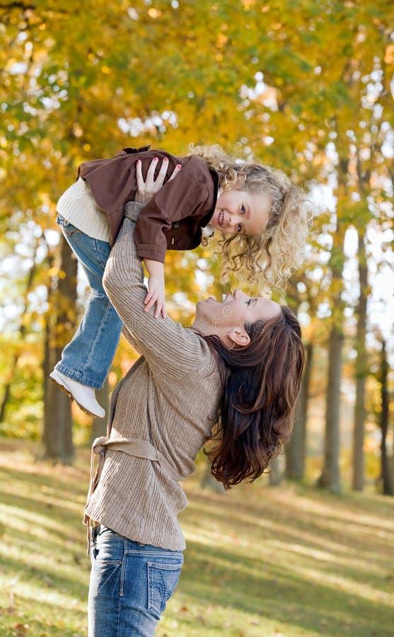 Jeu de mère et de descendant photos libres de droits