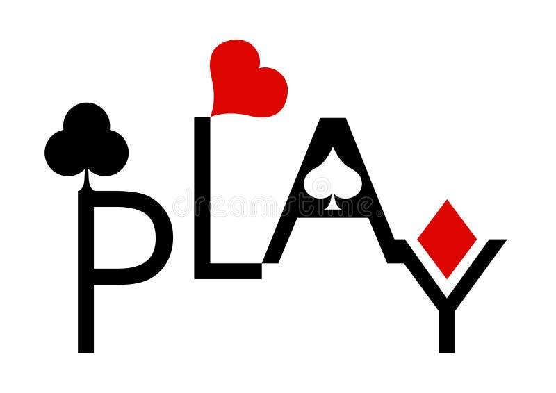 Jeu de poker images stock