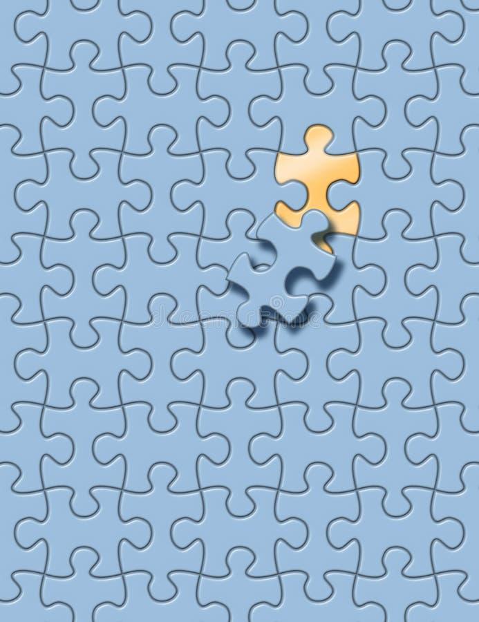 Jeu de puzzle illustration libre de droits