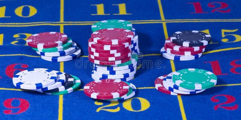 Jeu de roulette de casino images stock
